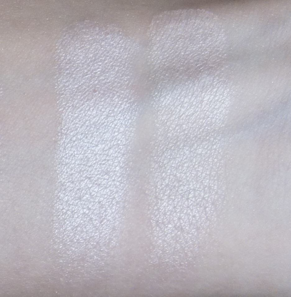 (LEFT) Sonia Kashuk -Eye Couture - Eye on Neutral Shimmer 3 (Eyeshadow #1)  (RIGHT) Urban Decay - NAKED Palette (Virgin)