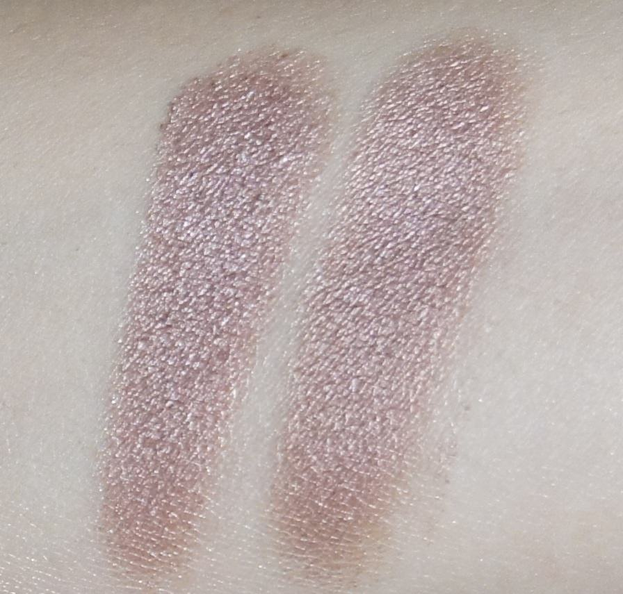 (LEFT) Sonia Kashuk -Eye Couture - Eye on Neutral Shimmer 3 (Eyeshadow #3)  (RIGHT) Urban Decay - NAKED Palette (Toasted)