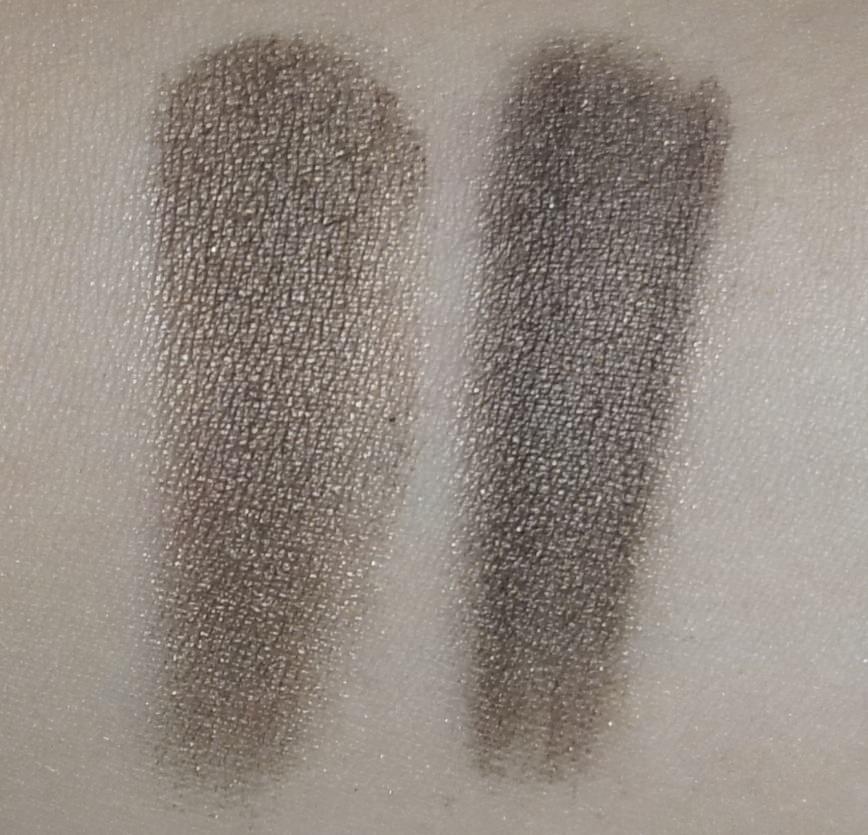 (LEFT) Sonia Kashuk -Eye Couture - Eye on Neutral Shimmer 3 (Eyeshadow #10)  (RIGHT) Urban Decay - NAKED Palette (Dark Horse)