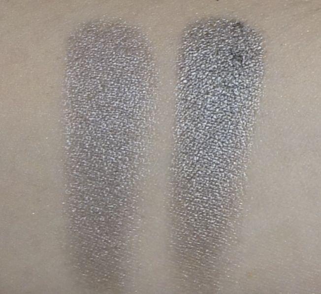 (LEFT) Sonia Kashuk -Eye Couture - Eye on Neutral Shimmer 3 (Eyeshadow #11)  (RIGHT) Urban Decay - NAKED Palette (Pistol)