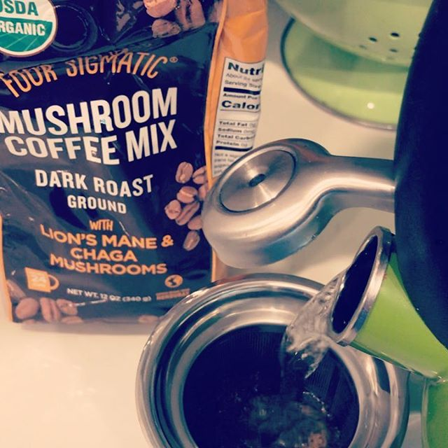 Time to get 'Shrooming!  Get the health benefits of mushrooms Chaga and Lion's Mane in you morning Joe!  NEW Four Sigmatic ground coffee with Chaga and Lion's Mane mushrooms now available to order with online payment @ https://bit.ly/2HT1R7v for in store pick-up.  For centuries, people have used mushrooms for medicinal purposes.  Check out some of it's benefits of Chaga: https://www.medicalnewstoday.com/articles/318527.php and Lion's Mane: https://www.medicalnewstoday.com/articles/323400.php