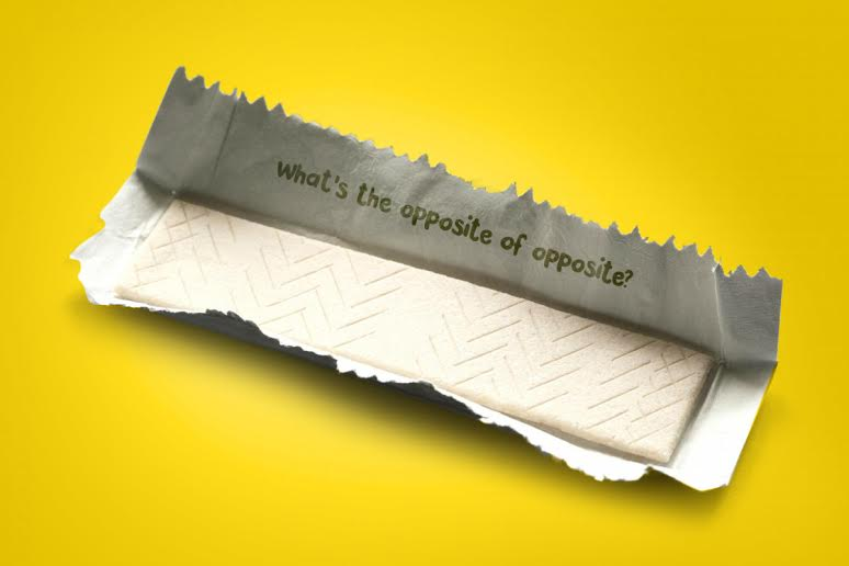 Juicy Thoughts will appear on the inside of Juicy Fruit wrappers.