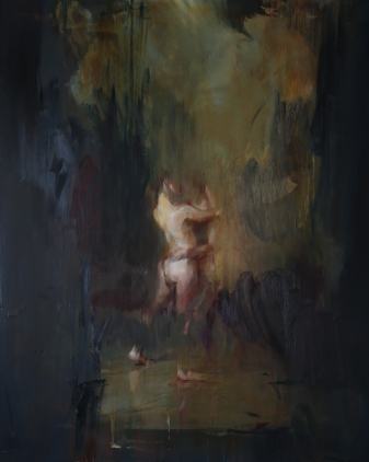 Two Figures by Jake Wood-Evans. 66cm x 82cm