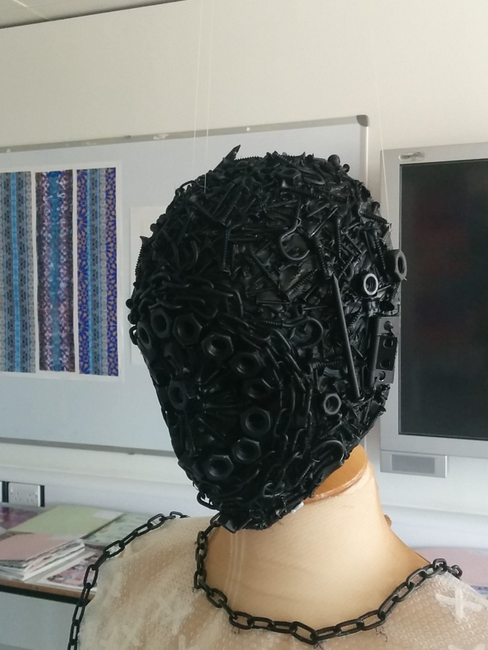 Rebecca Collier's A2 Textiles Work