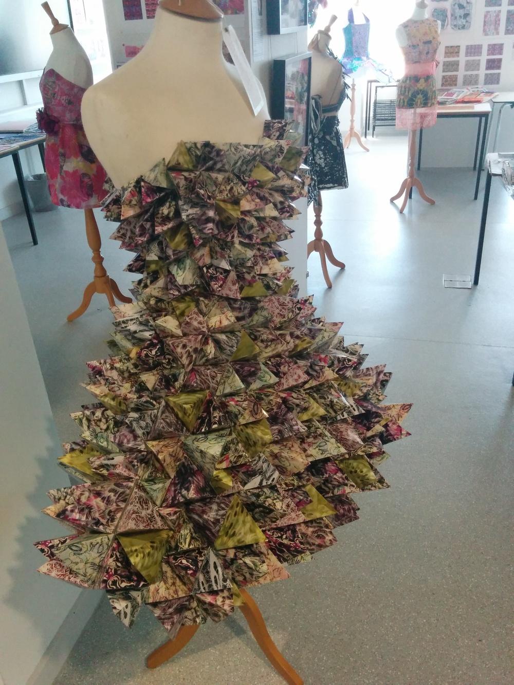 Amy Parsons' A2 Textiles Work
