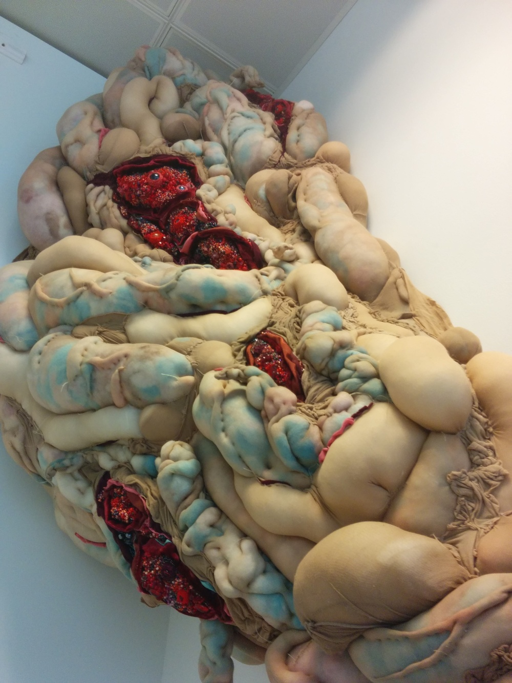 Holly Rozier - Textile Sculpture (detail)