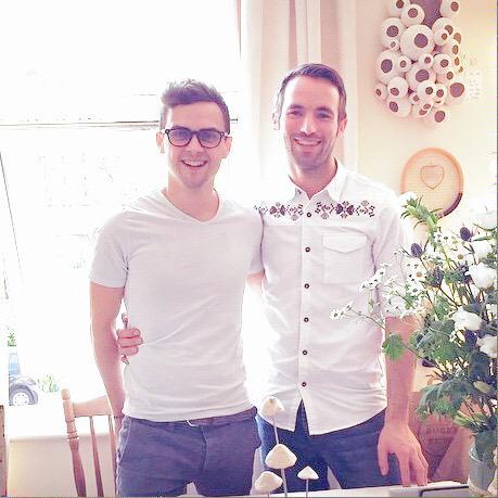 Daniel (L) and Adam (R)