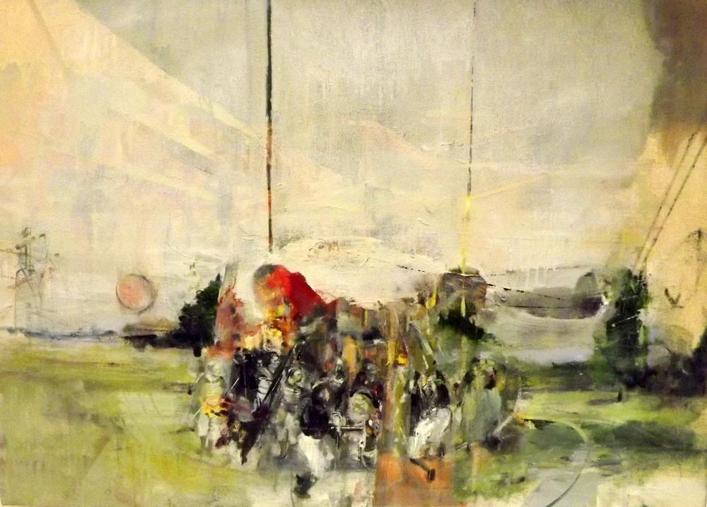 Bygones (II), Oil on Canvas. 2015.