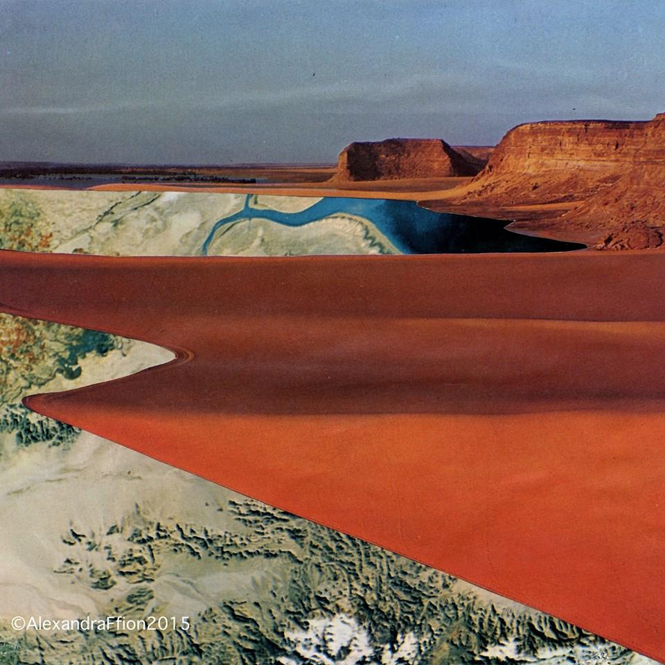 Desert Dream 2016, Collage