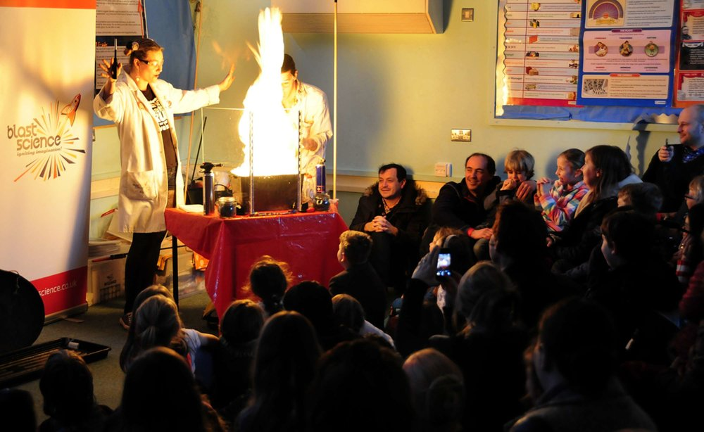 Brighton Science Festival - Lots of explosions, lots of fun.