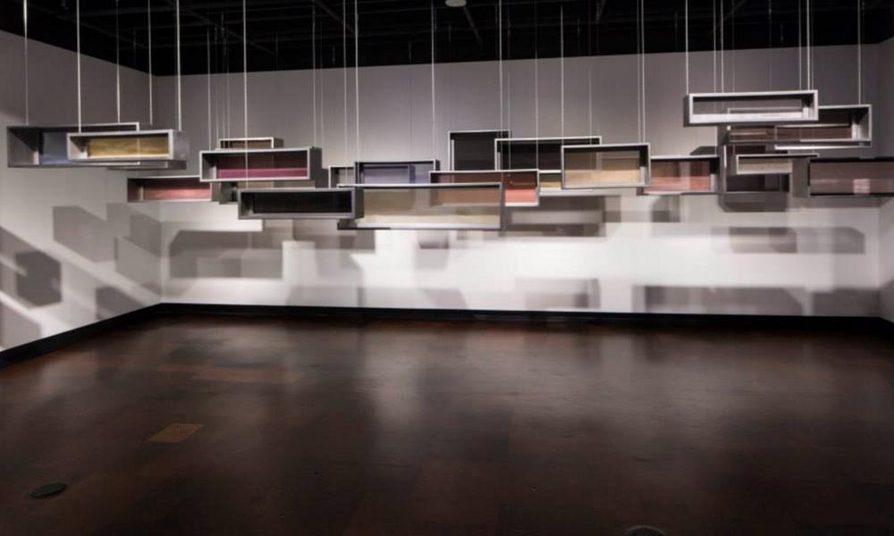 Shades of White , Jordan Schnitzer Museum, University of Oregon,Geraldine Ondrizek, 2014