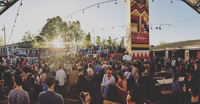 Feeing pretty great about how #artsmash2018 turned out on Granville Island last Saturday.  Congrats and Thanks to everyone involved including the Granville island team, all the muralists, @public_disco , @houdini_cazimi , @vcbw , @hfourstudio and of course our incredible crew from @vanmuralfest who produced the art and the party - honorable mentions to @hey__ac who makes dreams real, AND @whoa_adrian @drewstuff @michael__bock @working_title who were hard at work on this for the many weeks leading up to the big day.