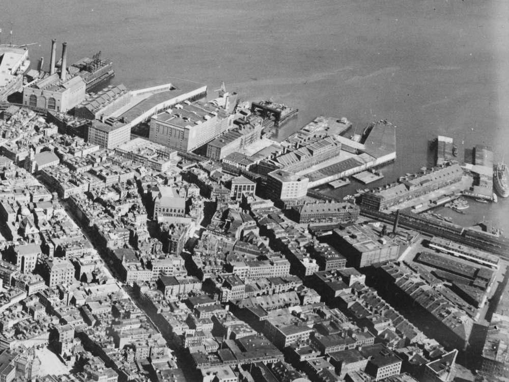 Lewis Wharf, 1929