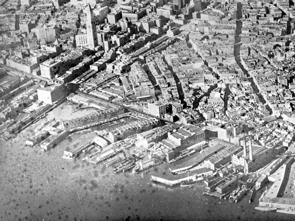 Lewis Wharf, 1931