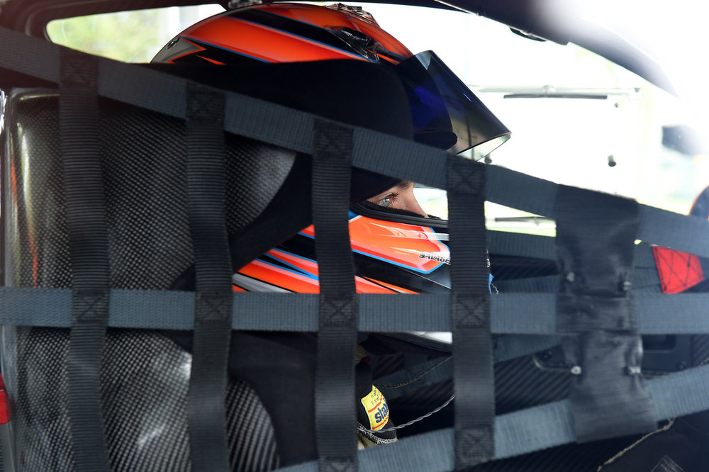 Alec Udell in cockpit and ready to race at VIR. Image Courtesy of GMG
