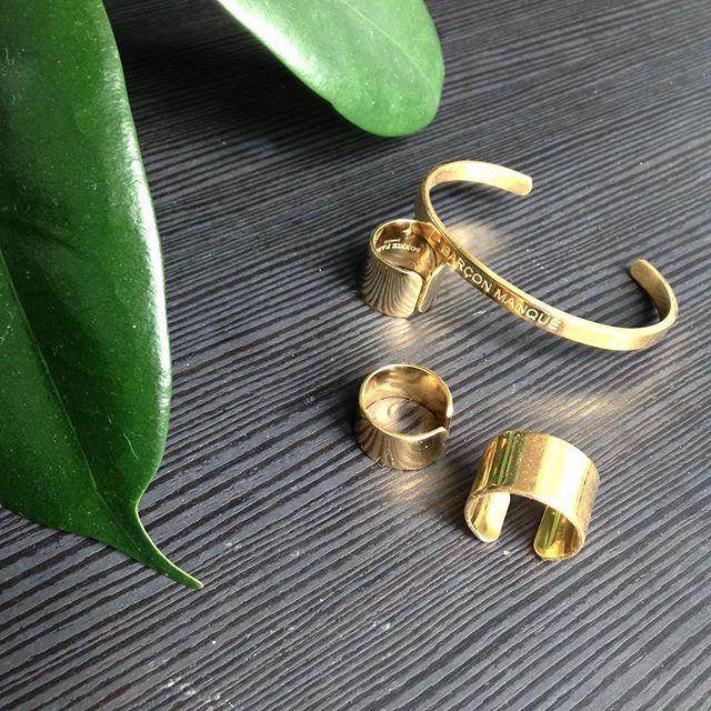 """""""Garçon manqué"""" is still the BEST ✌🏼 ✖️Bracelet ➕bagues à retrouver sur www.bonnieparker.fr (Lien dans la bio) #bracelets #rings #jewelry #bonnieparkerjewelry #createurfrancais"""