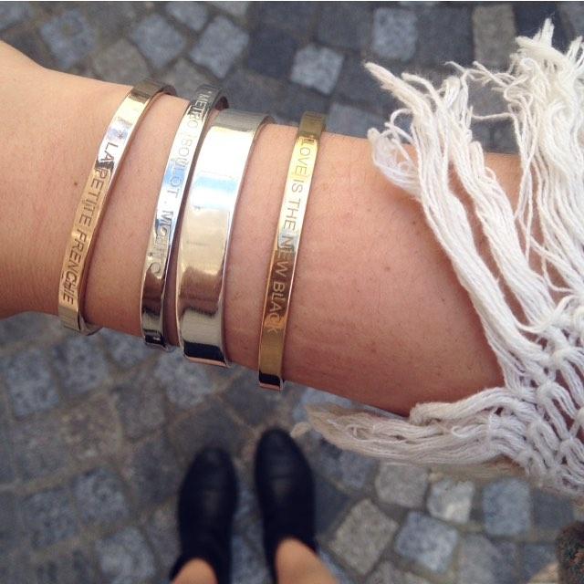 Bracelets, franges et l'été qui pointe le bout de son nez 👌🏻☀️ • www.bonnieparker.fr • #bonnieparkerjewelry #jewels #frenchbrand #frenchdesigner #createurfrancais #bracelets #style #summer #fashion