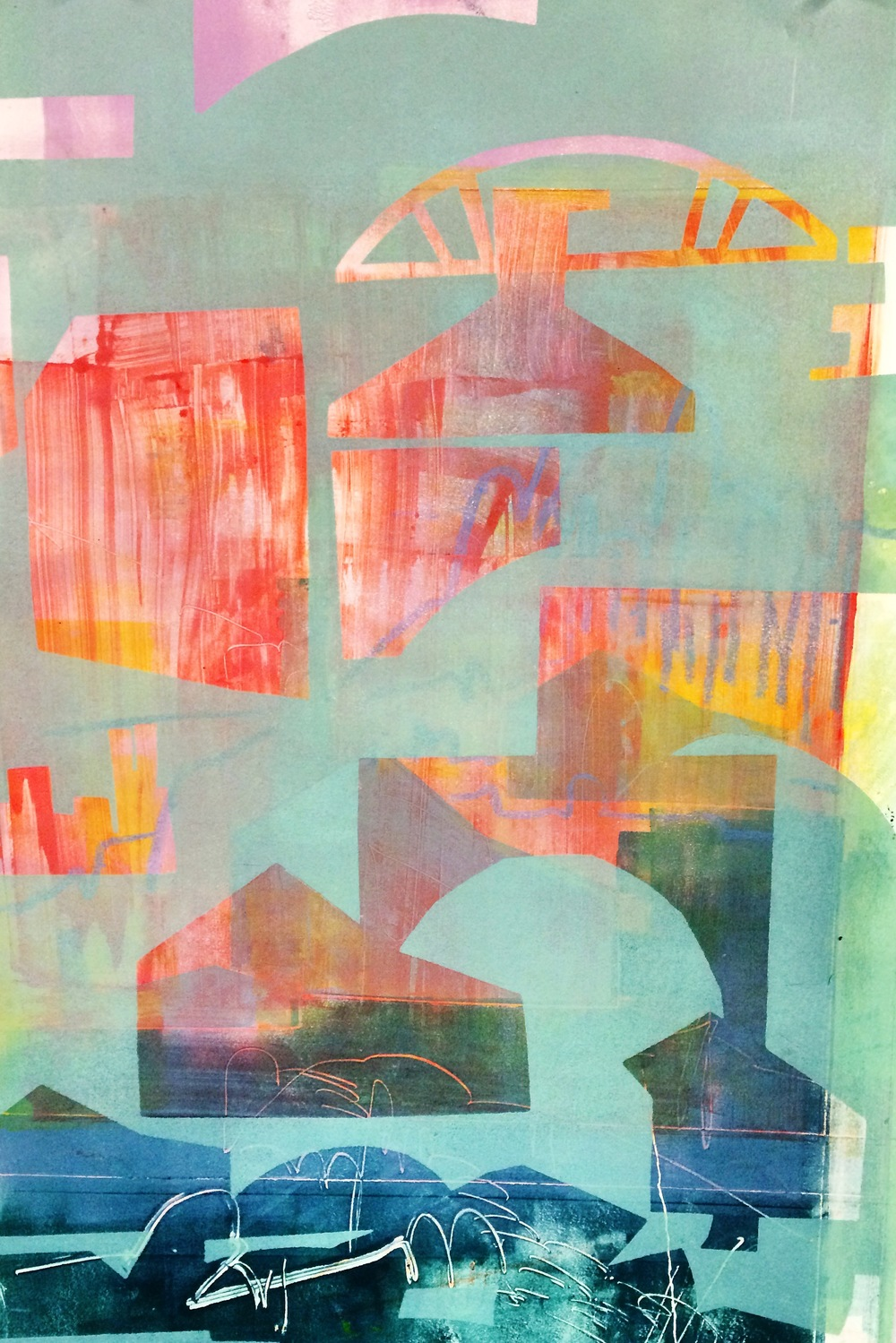 Diptych for the Coast (No.1)