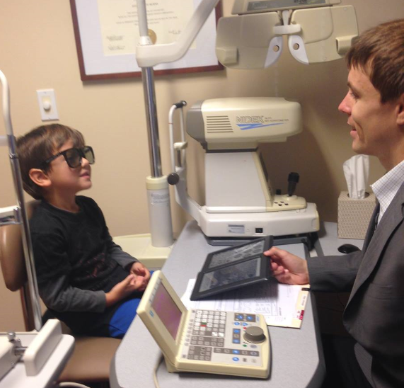 Boy Appointment with Dr. Craig Fellers
