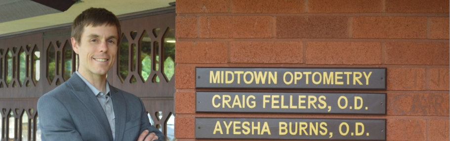 Midtown Optometry Dr Craig Fellers and Ayesha Burns