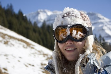Wraparound sunglasses are particularly effective in preventing injuries from the dust, the wind and debris.