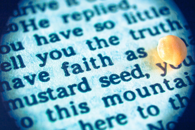And he saith unto them, Because of your little faith: for verily I say unto you, If ye have faith as a grain of mustard seed, ye shall say unto this mountain, Remove hence to yonder place; and it shall remove; and nothing shall be impossible unto you. (Matthew 17:20 ASV)