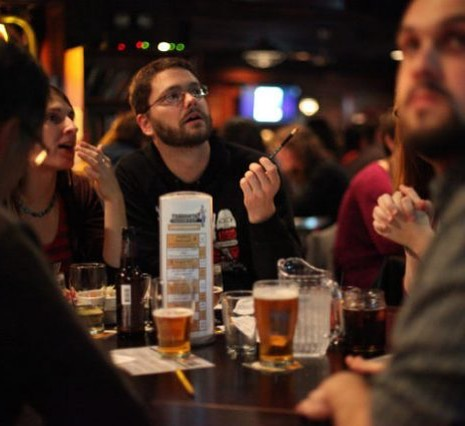 Close your hump day out with Pete's by putting your knowledge to the test with trivia night tonight starting at 7:30!🍬🍭🍬 1st prize is $75 bar tab 2nd is $40 bar tab 3rd is $15 bar tab • • • • • • • #trivia #knowledge #beer #quiz #whowantstobeamillionaire #jeopardy #alextrebek #brooklyn #williamsburg #lorimer #beer #bar #prize #money #nyc