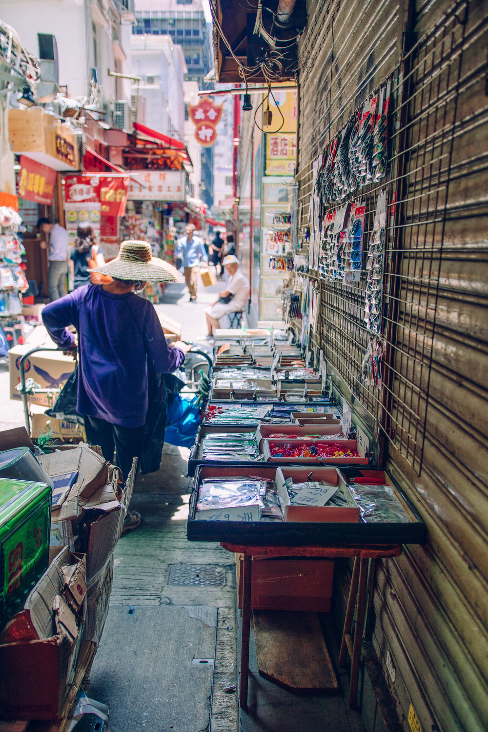 Conglomeration -  Taking a break from the hustle and bustle of Hong Kong's vibrant culture