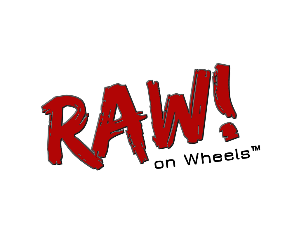 RAW! on Wheels logo.png
