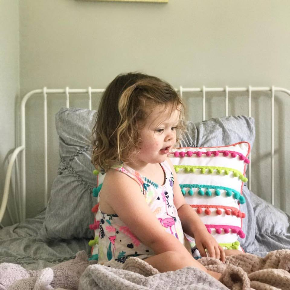 "First Day Transitioning our Toddler to her ""Big Girl"" Bed 