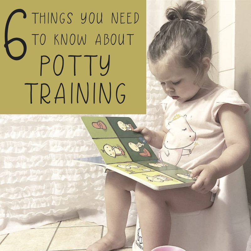 6 Things You Need To Know About Potty Training | momming is hard
