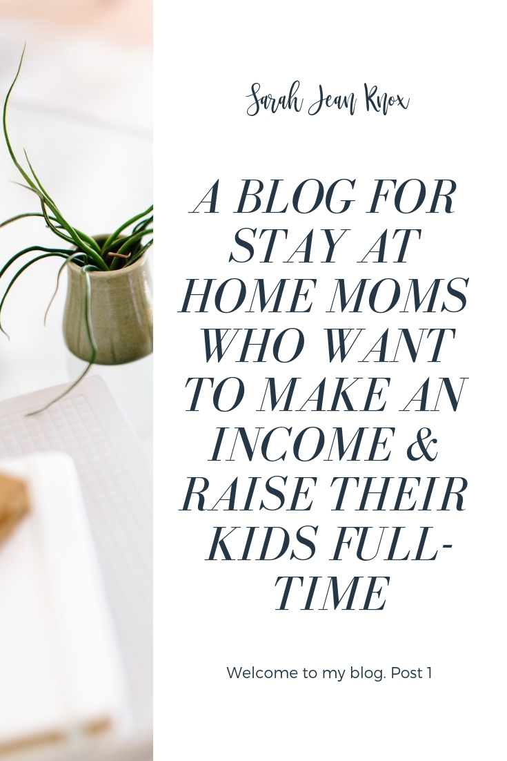 If you want to make some income or build a business while staying home with your kids, this blog is for you.