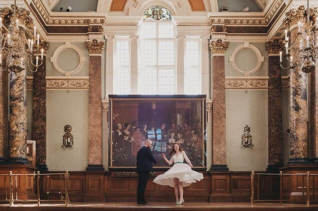 A quick shot of yesterdays wedding in this glorious late Victorian building. . . . #gingerandthebeard #chelseaoldtownhall #londonweddings #londonweddingphotographer #londonphotographer #affobpresets #justmarried  #loveintentionally #radcouples #goodpresets #lookslikefilm #greenweddingshoes #junebugweddings #heyheyhellomay #dreamweddingshots