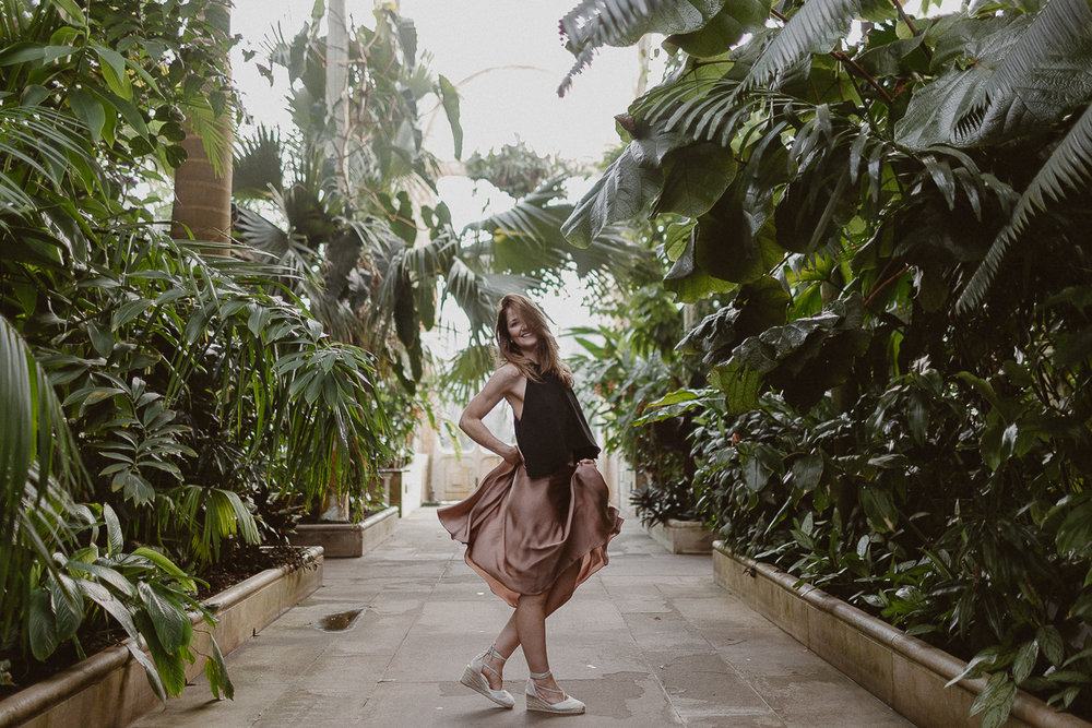 Kew Garden portrait session