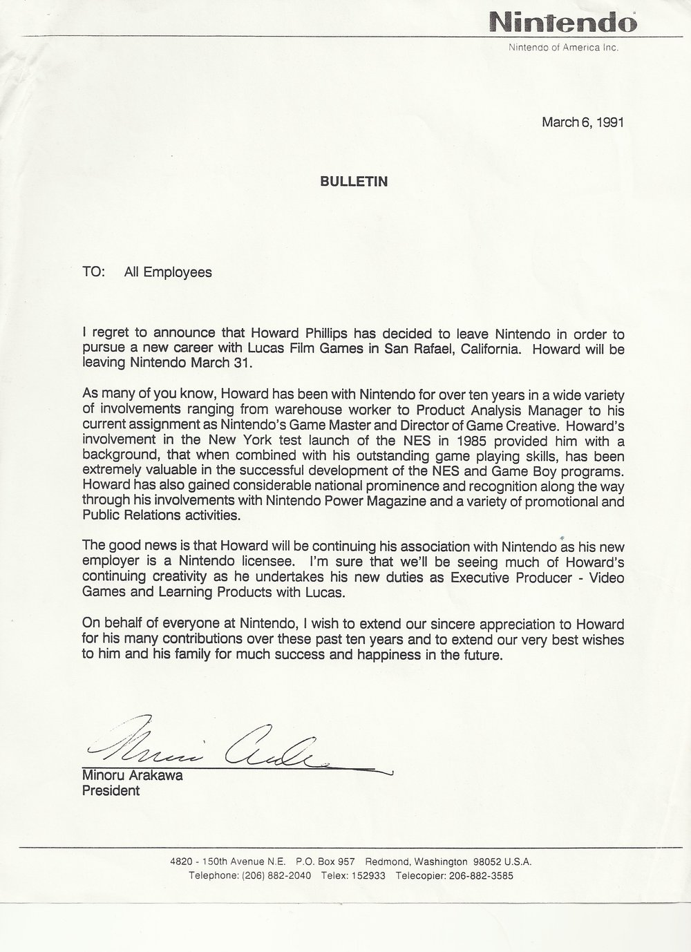 Howard Phillips Exit Letter.JPG