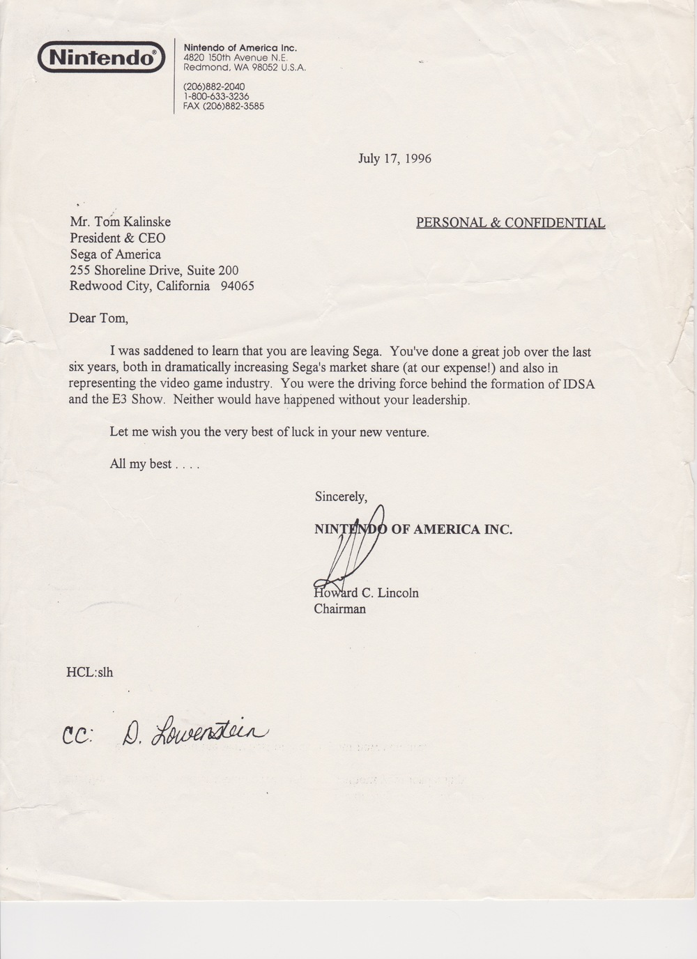 Howard Lincoln Letter.jpeg