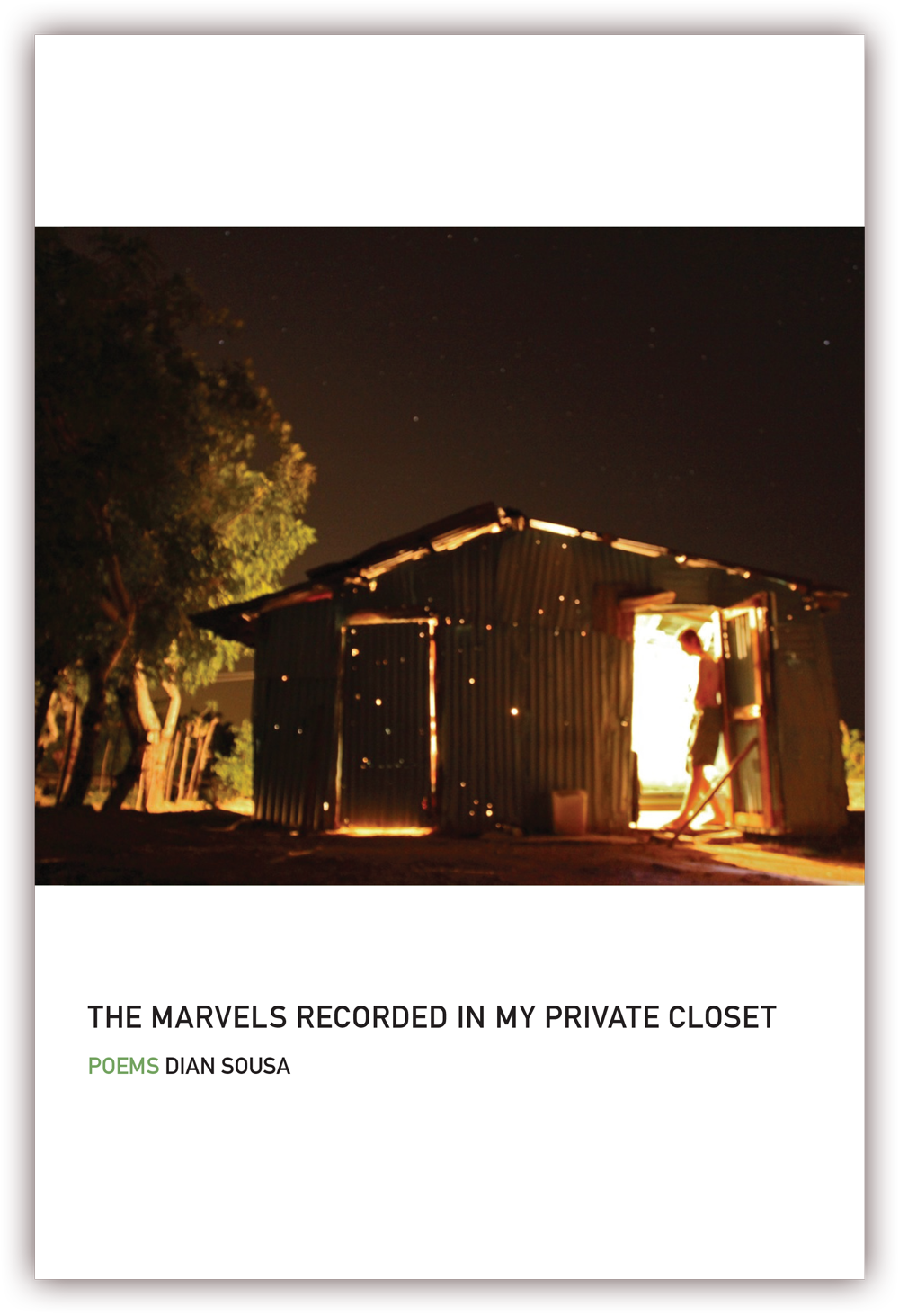 The Marvels Recorded In My Private Closet (front cover) Poems by Dian Sousa CLICK IMAGE TO ENLARGE