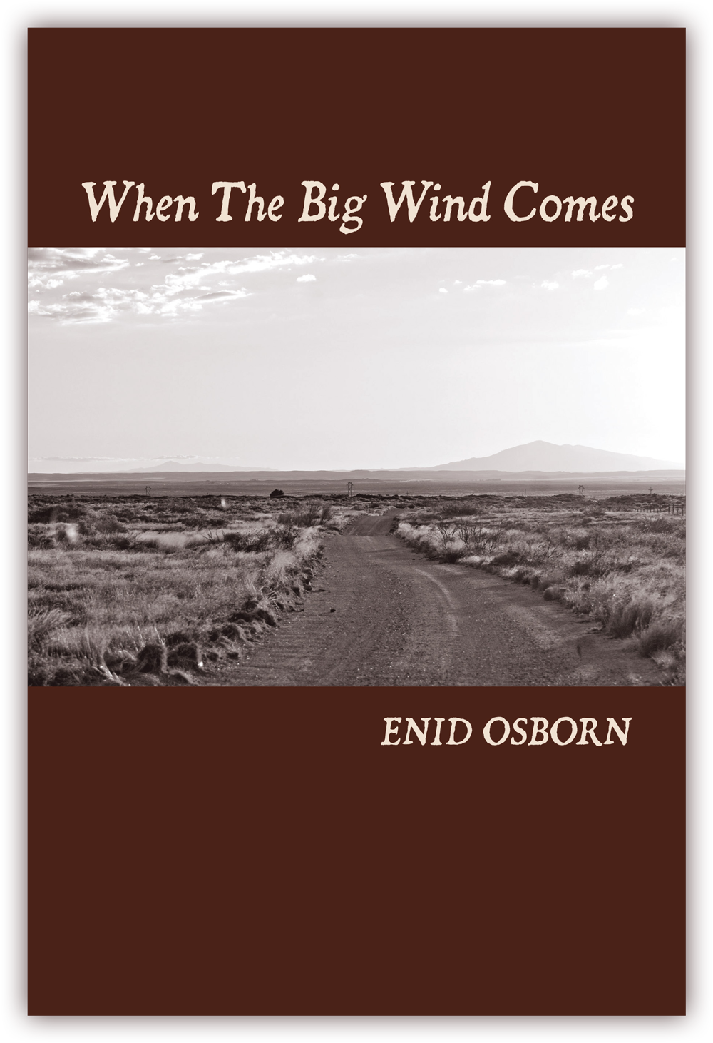 When The Big Wind Comes (front cover) Poems by Enid Osborn CLICK IMAGE TO ENLARGE