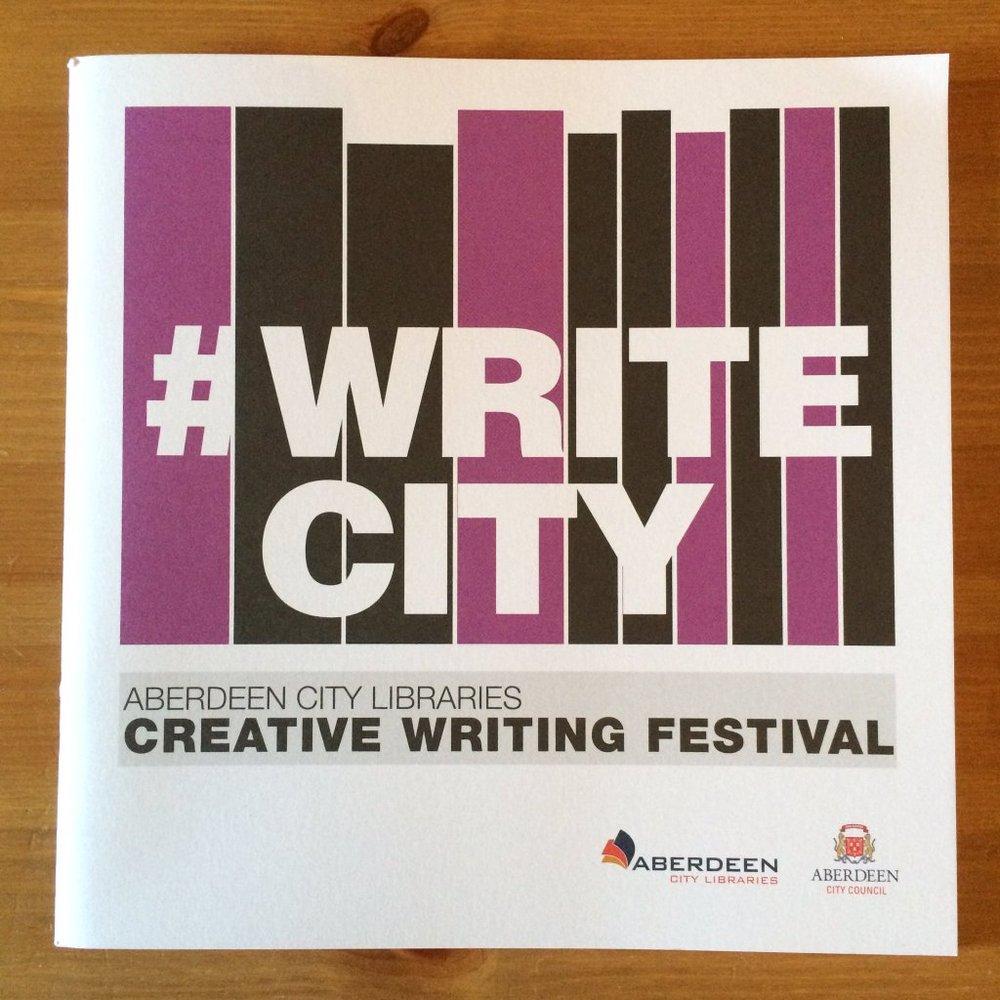 #WriteCity