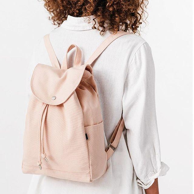 BAGGU Canvas Backpack -
