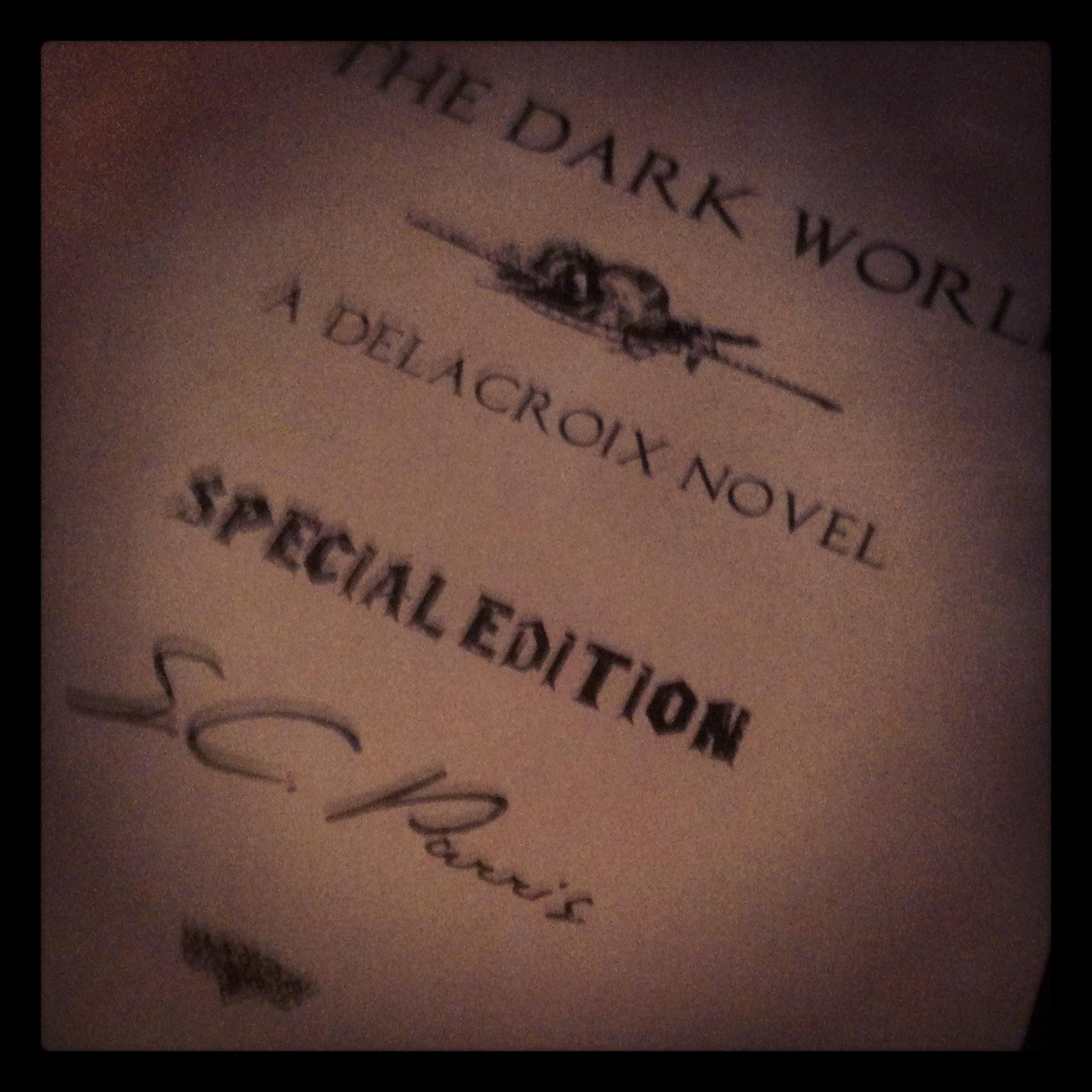 The Dark World Inside Cover