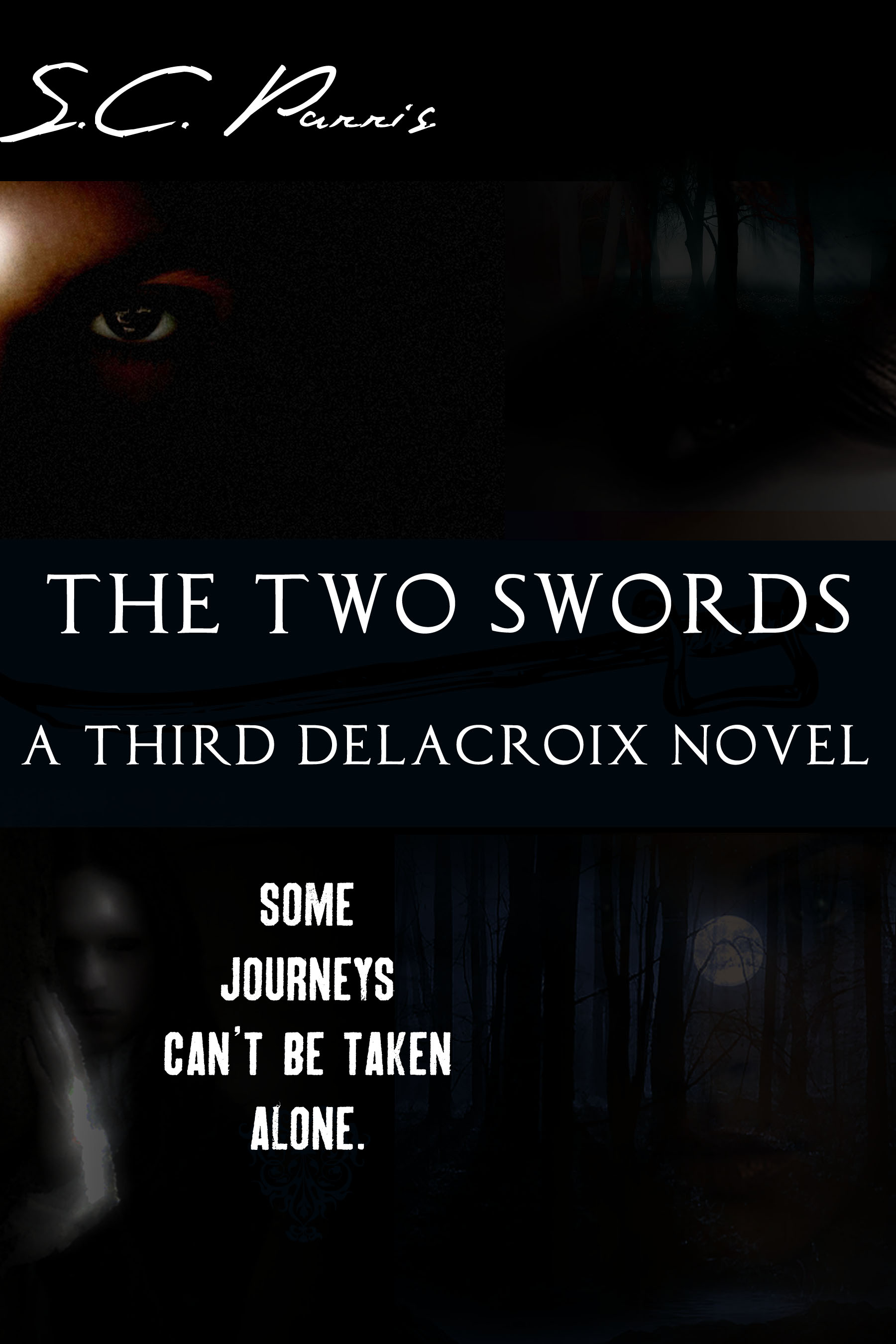 book, novel, the two swords