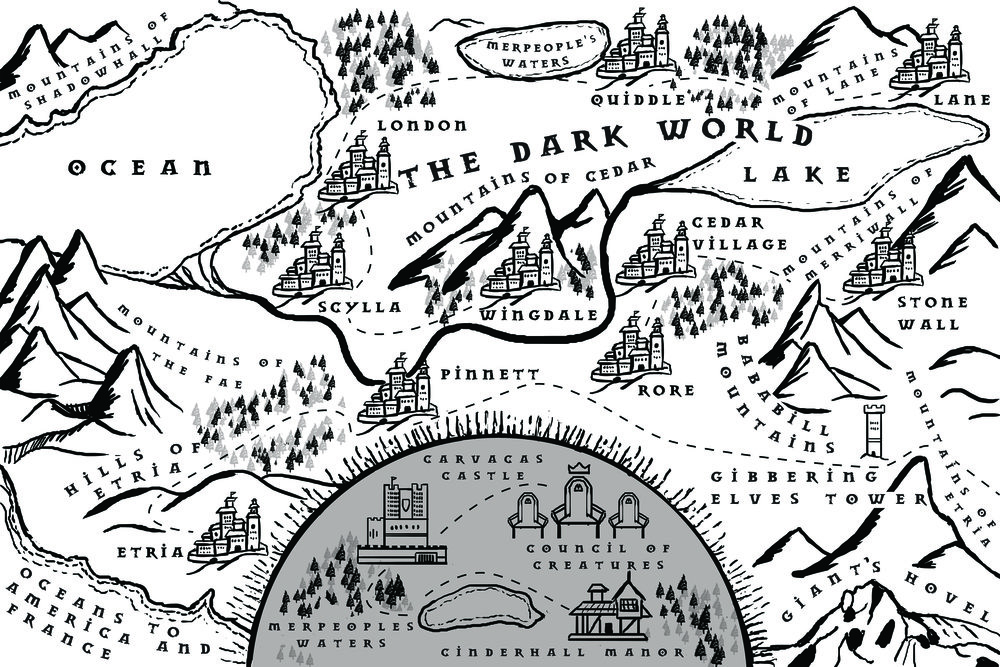 - This is the Dark World series map.