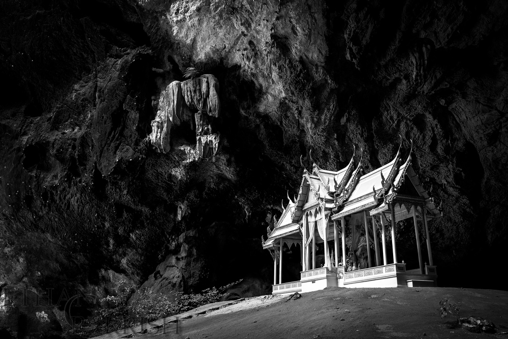 Temple in  Phraya Nakhon Cave in  Khao Sam Roi Yot National Park, Thailand