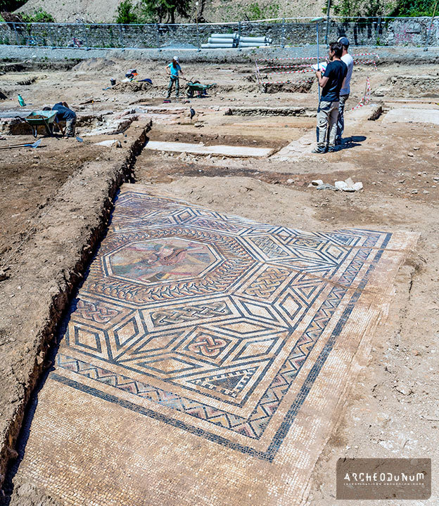 Read more at: https://archinect.com/news/article/150021680/archaeologists-uncover-little-pompeii-ancient-roman-settlement-in-france
