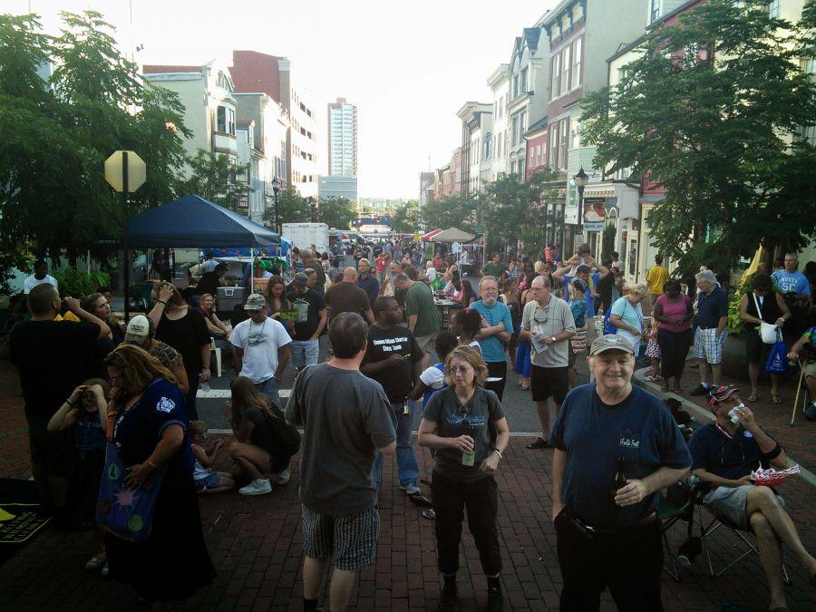 Market Street block party