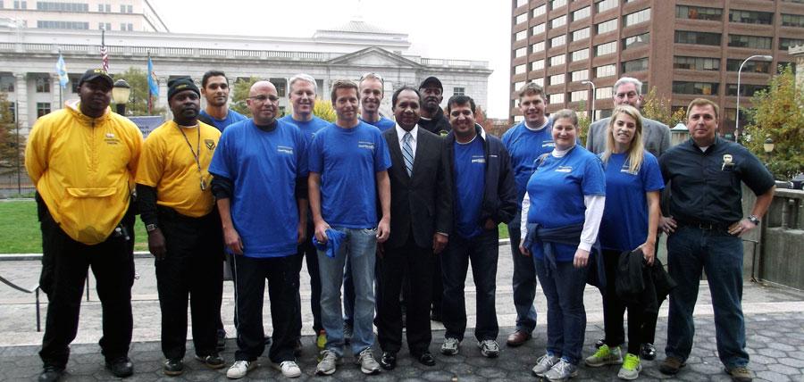 JP Morgan Chase volunteers