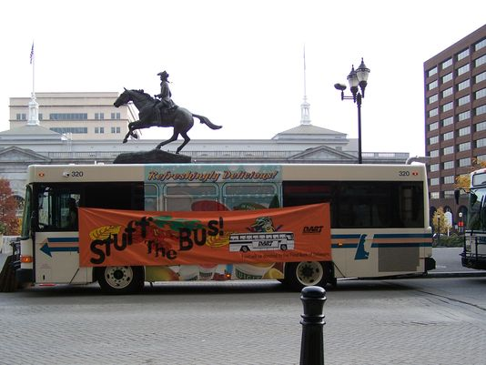 Stuff the Bus at Rodney Square