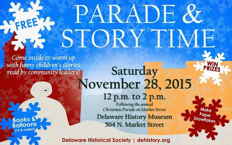 DE Historical Society Nov 28