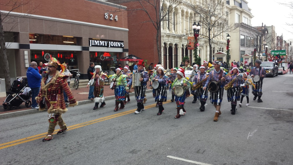 parade Nov 28, 2015 Mummers
